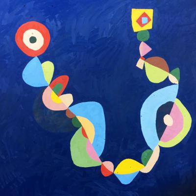 Sem título 4 | 2018 | óleo sobre tela | 150 x 150